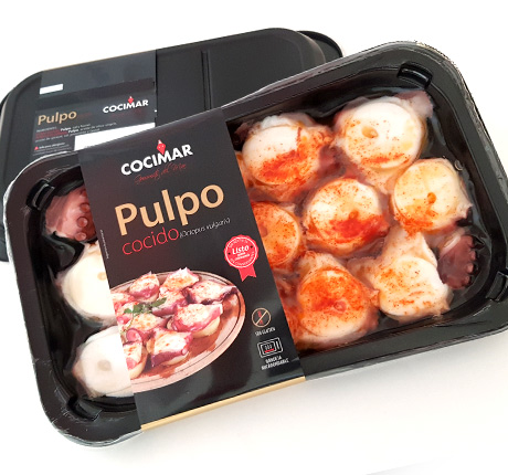Pulpo a la gallego